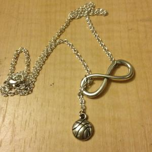 Basketball Forever Drop Necklace